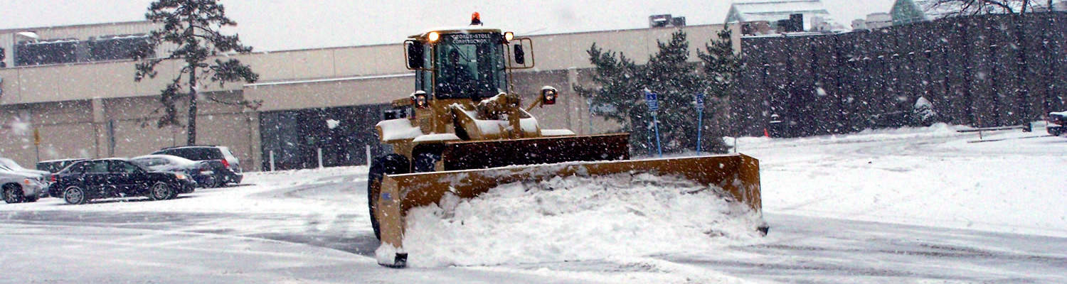 CSB Contractors - NY Snow Removal Plowing Mall Parking Lot