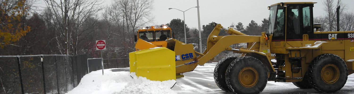 CSB Contractors - NY Snow Removal Equipment for Every Need