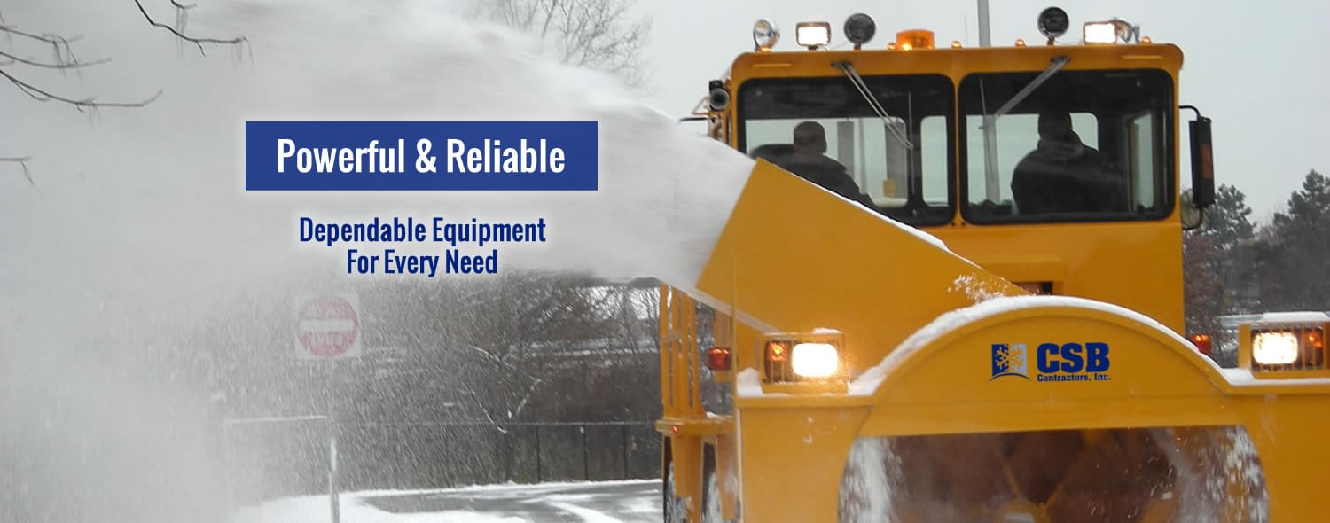 CSB Snow Removal - Airport Snow Plowing