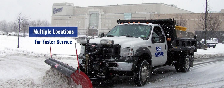 CSB Snow Removal Snow Plow