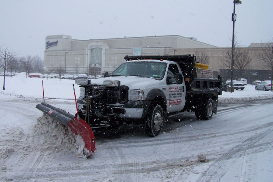 4x4 snow plow truck from CSB Contractors, Inc.