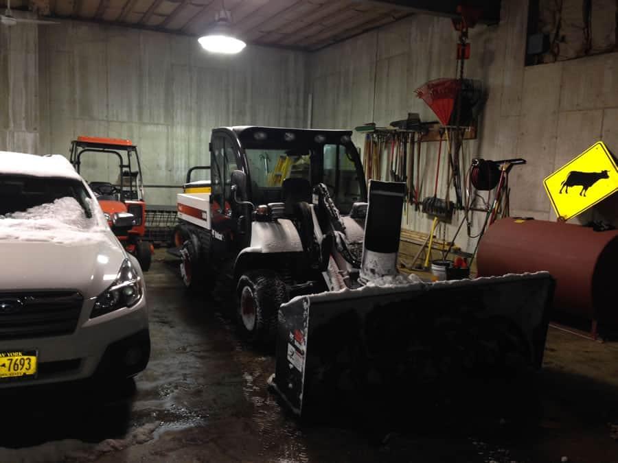 CSB Contractors, Inc. snow removal equipment