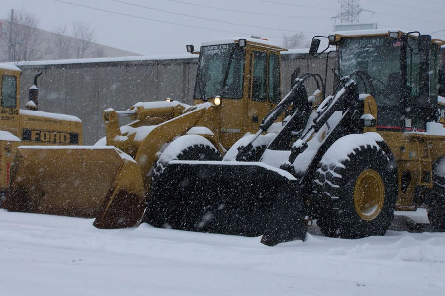 front end loaders for snow removal - CSB Contractors, Inc.