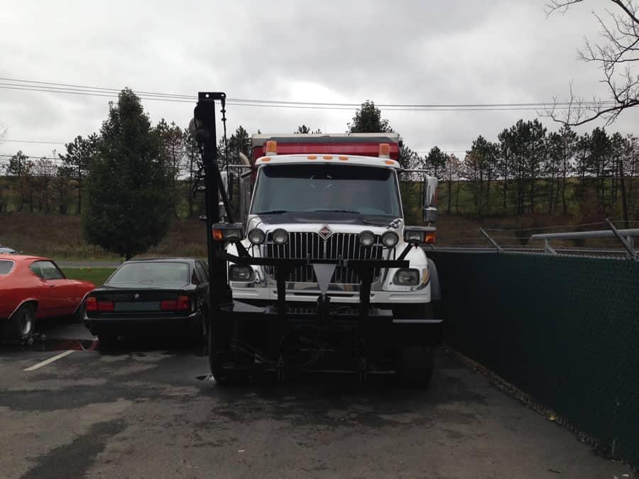 heavy duty truck at CSB Contractors, Inc.