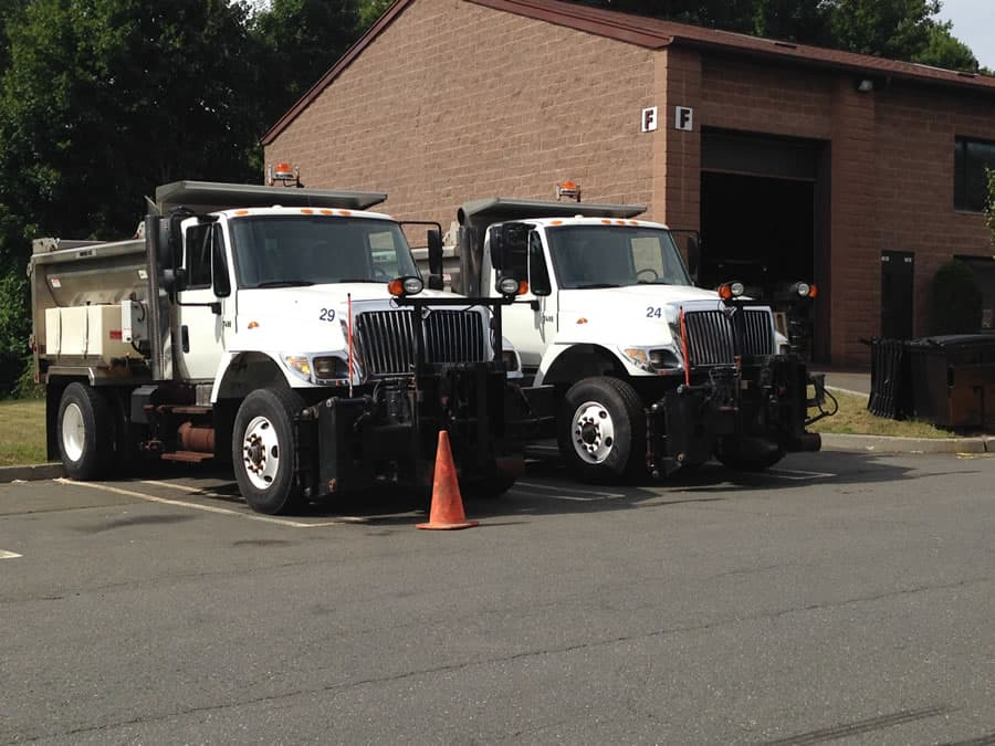 new heavy duty snow plow trucks from CSB Contractors, Inc.