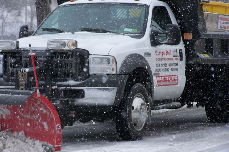 snow plow truck from CSB Contractors, Inc.