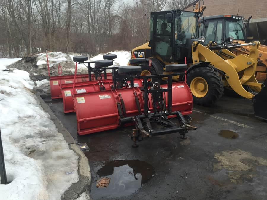 snow plows at CSB Contractors, Inc.