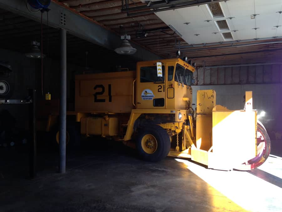 specialized snow removal equipment - CSB Contractors, Inc.