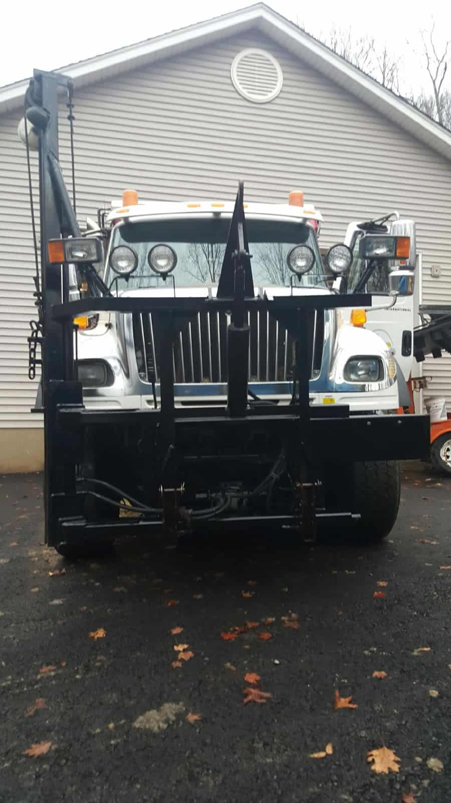 specialized snow removal truck from CSB Contractors, Inc.