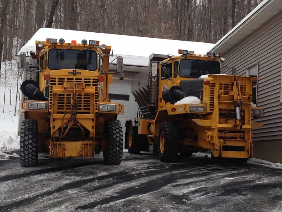 unique snow removal equipment at CSB Contractors, Inc.